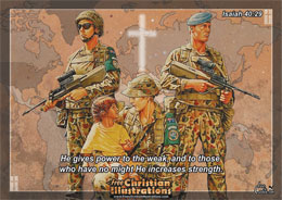 Christian Soldier Picture