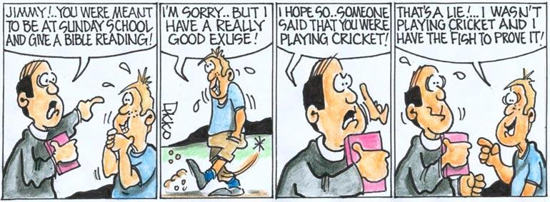 Free Christian Cartoon Comic Strips By Dikko