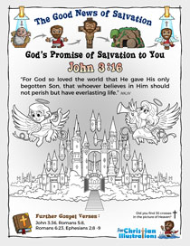 Christian Color in John 3 16