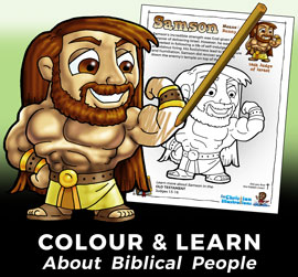Free Bible Colouring Ins