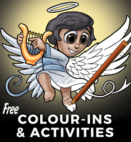 Free Christian Colour ins and activities