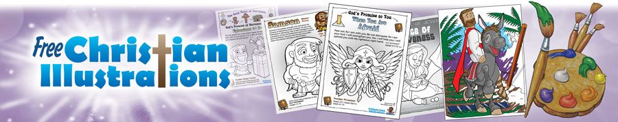 Free Christian Colouring Ins