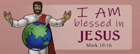 Blessed in Jesus