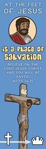 Free Christian Bookmark Salvation