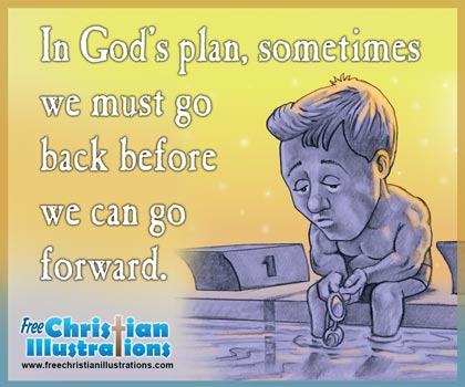 Free Christian Card Gods Plan